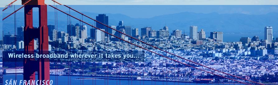 Wireless Internet wherever it takes you...